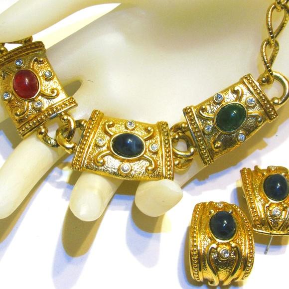 c89d3dbdde7 Avon Jewelry | Etruscan Essential Treasures Necklace Earrings | Poshmark